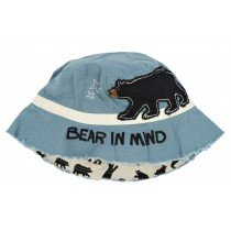 Hatley Sun Hat - Blue Bears