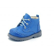 Emel First Shoes - Blue Lace Up Boot