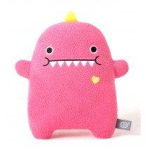 noodoll - miss dino plush toy - dino pink