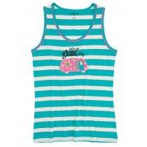 Womens PJ Vest Top - HATLEY - Glamping