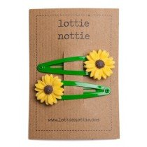 lottie nottie - Sunflower on Green Clips