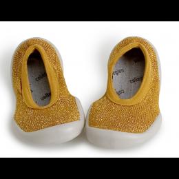 Collegien Slippers - Ballerina Moutarde