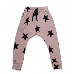nununu - STAR BAGGY PANTS - powder pink