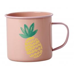Rice - Coral Enamel Mug - Pineapple