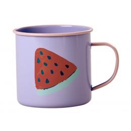 Rice - Lavendar Enamel Mug - Watermelon