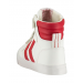 Hummel Trainers - Stadil Heritage Leather High Tops - Ribbon Red