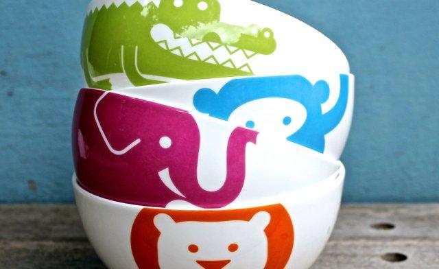 Colourful Dove Tableware