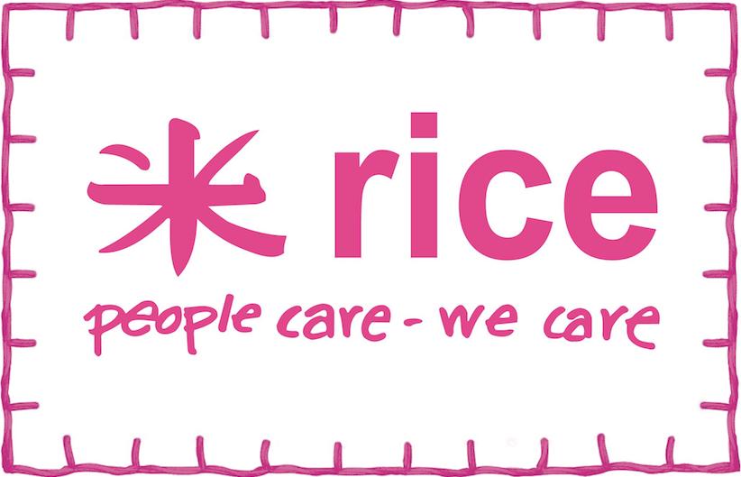 rice - melamine cups & plates