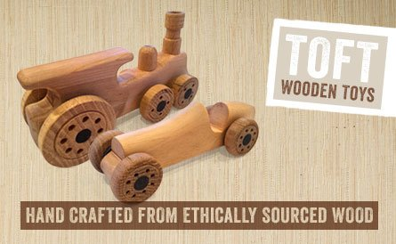 Toft Hand Made Wooden Cars