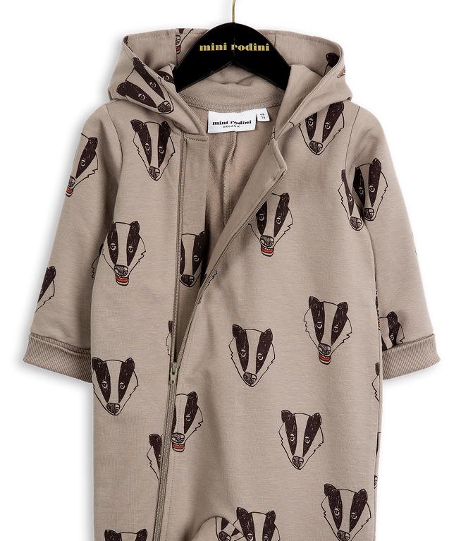 badger onesie mini rodini