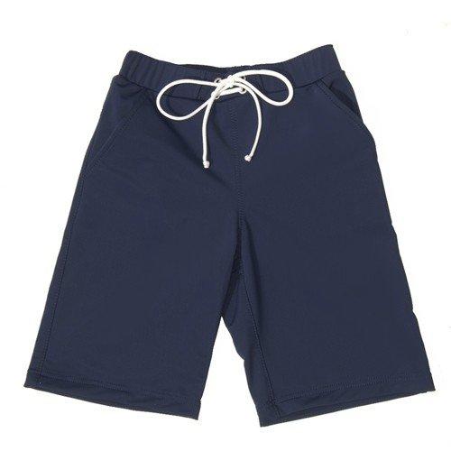 Petit Crabe - Long Swim Short - Navy