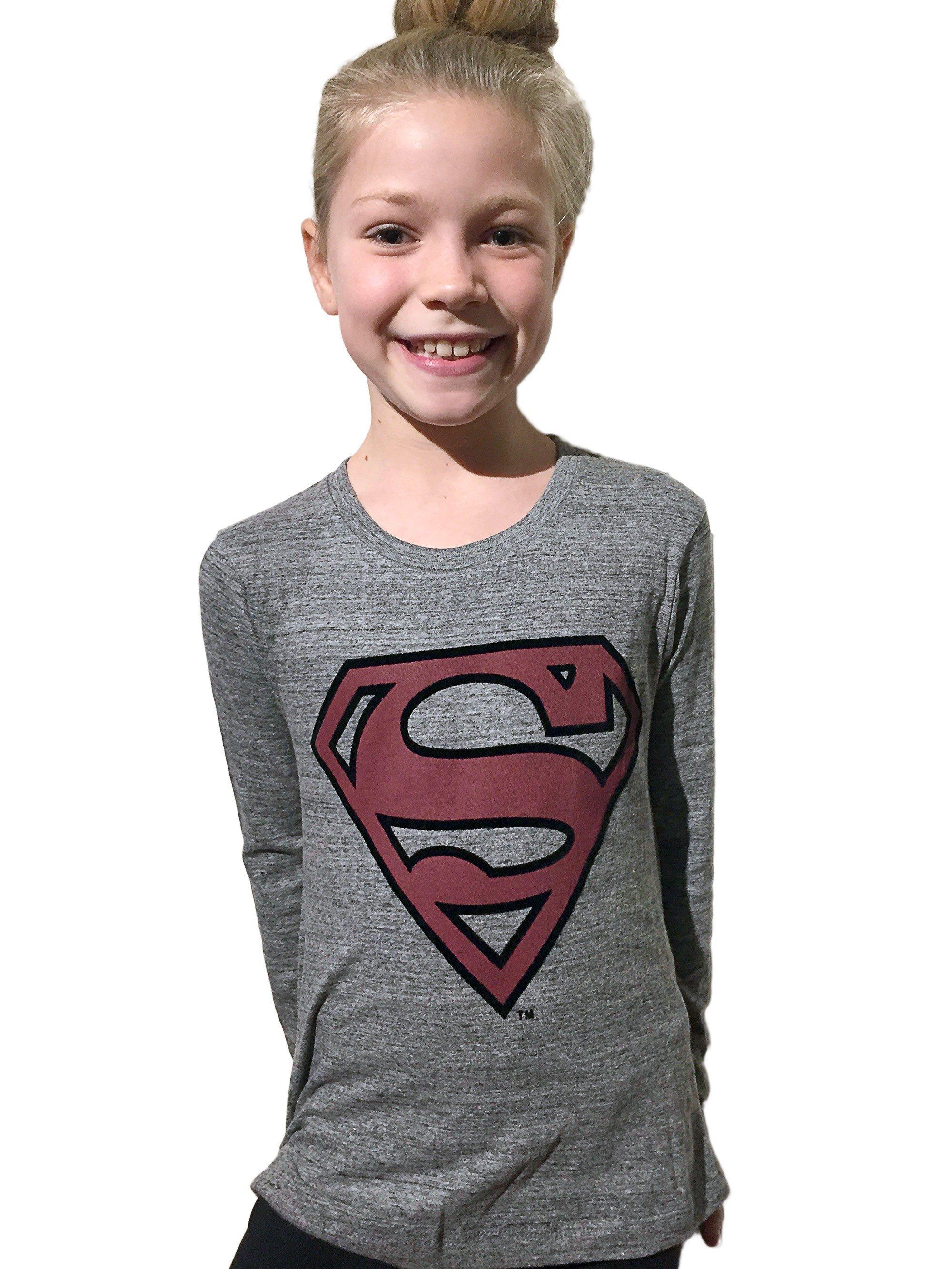 Little Eleven Paris - SUPERMAN - Long Sleeve Tee
