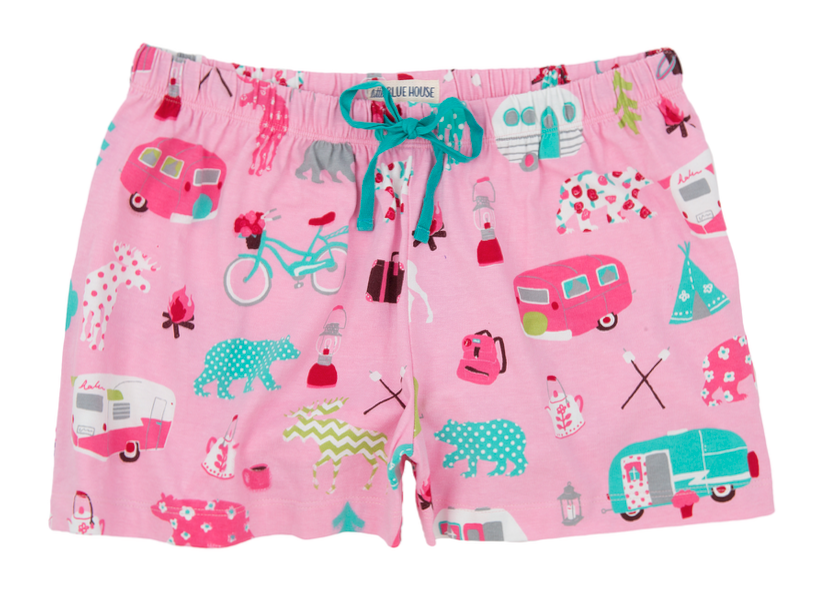 Womens PJ Boxers - HATLEY - Glamping
