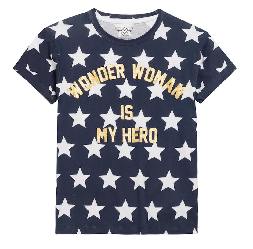Little Eleven Paris - WONDER WOMAN - Short Sleeve Tee