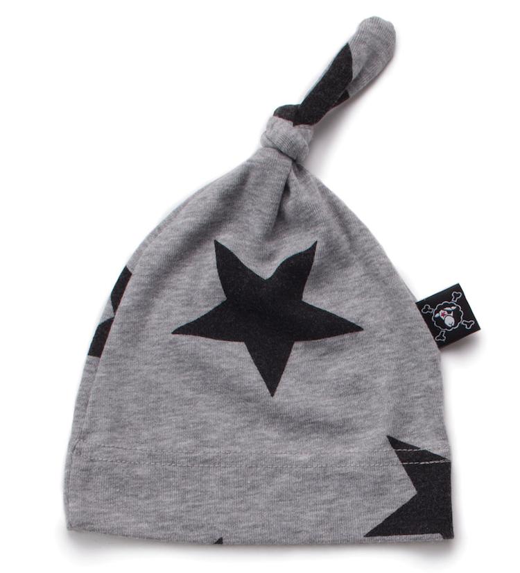 nununu - STAR HAT - heather grey