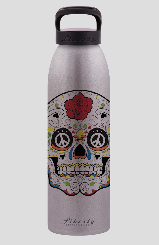 Liberty Bottleworks - Silver Skull - 700ml