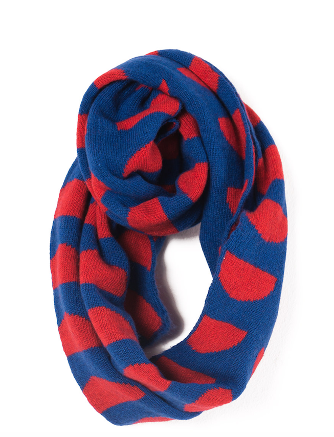 BOBO CHOSES - Knitted Scarf - Crests