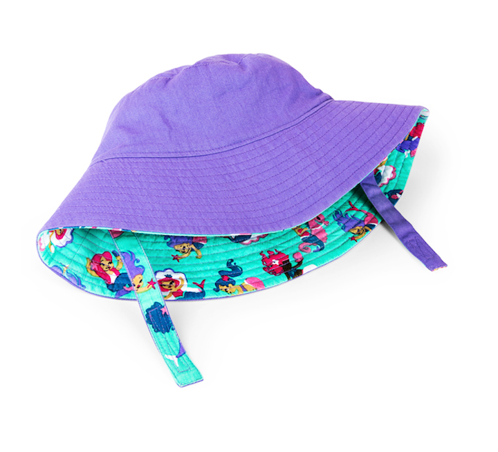 Hatley Reversible Sun Hat - Underwater Kingdom