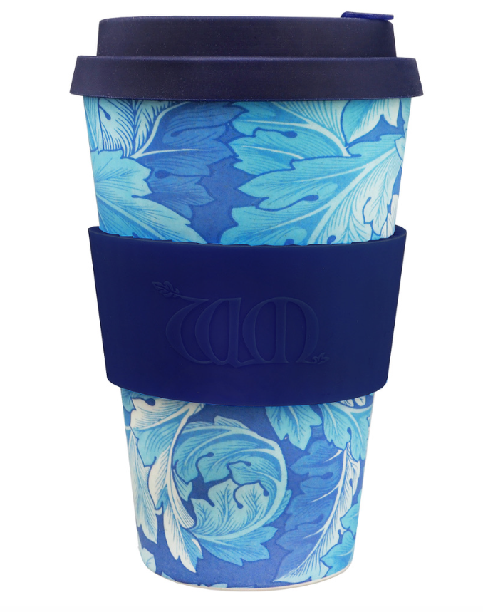 Ecoffee Cup - WILLIAM MORRIS ACANTHUS - 400ml