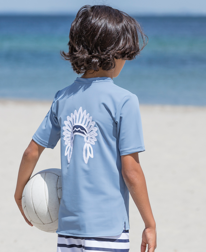 Petit Crabe - Short Sleeved Swimshirt - Chief
