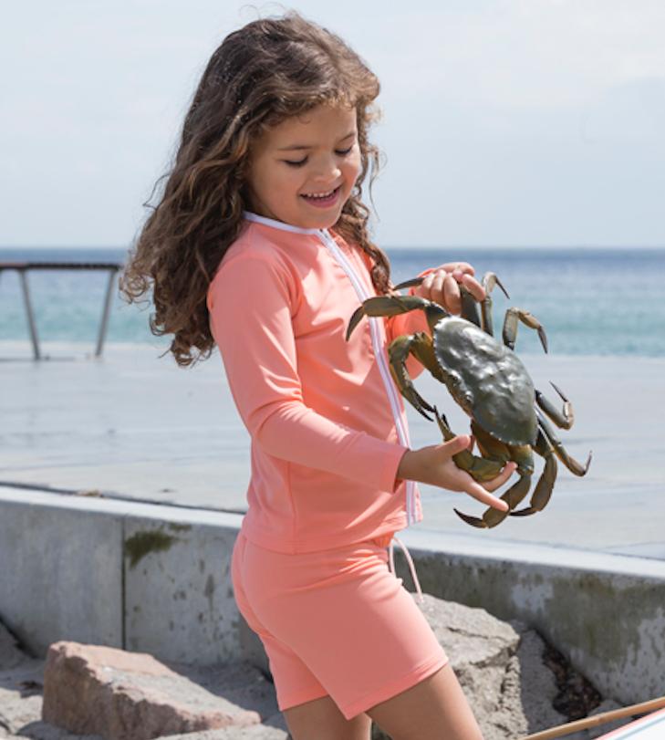 Petit Crabe - Swim Shorts - Coral