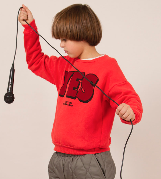 BOBO CHOSES Sweatshirt - YES NO