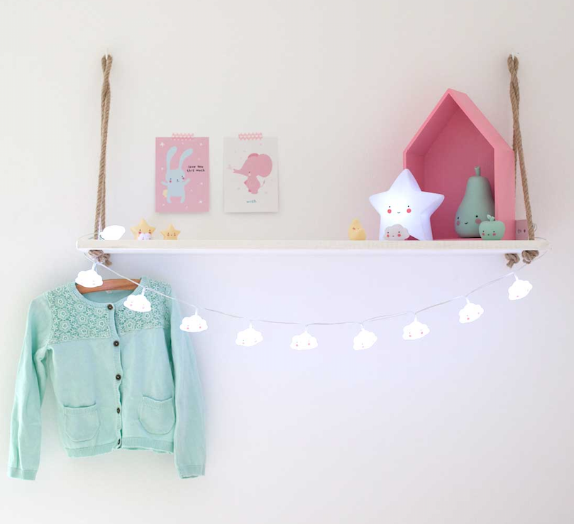 Little Lovely Company | String Lights | Clouds