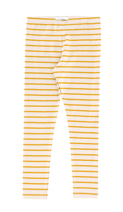 tinycottons | small stripes legging | mustard