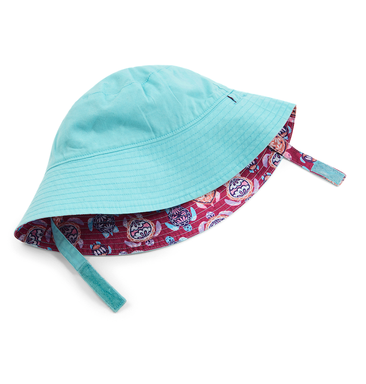 Hatley | Reversible Sun Hat | Sea Turtles