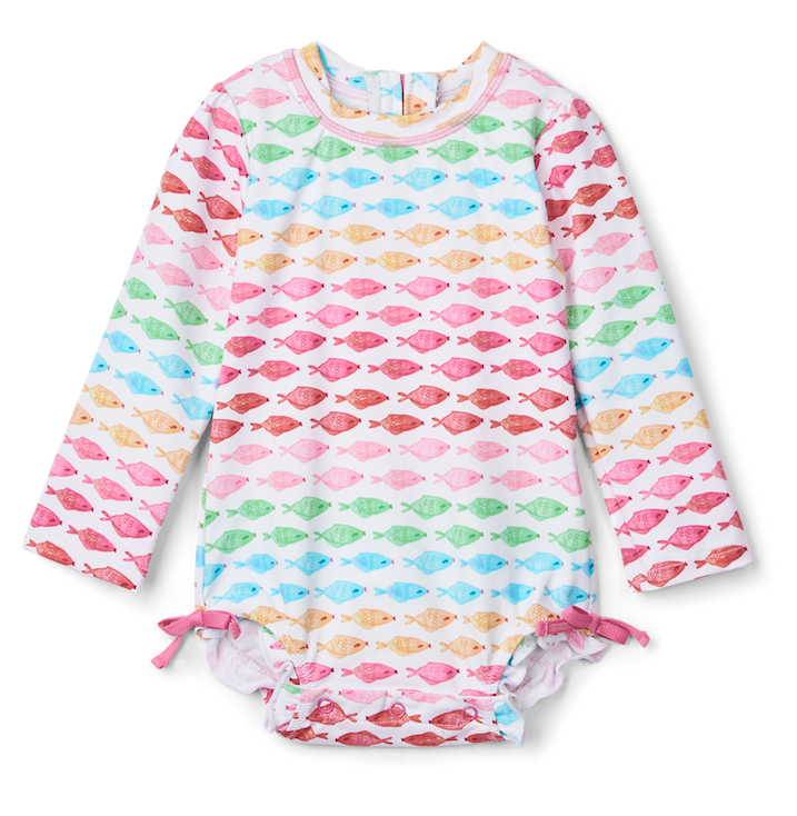 Hatley Swimwear | Infant Rashguard | Fishies