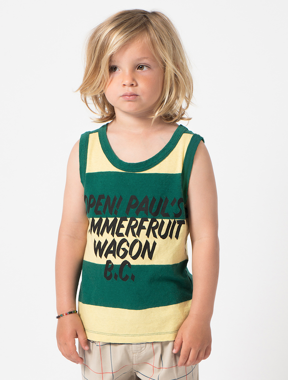bobo choses | open | linen tank top