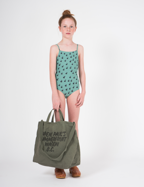 bobo choses | swimsuit | apples