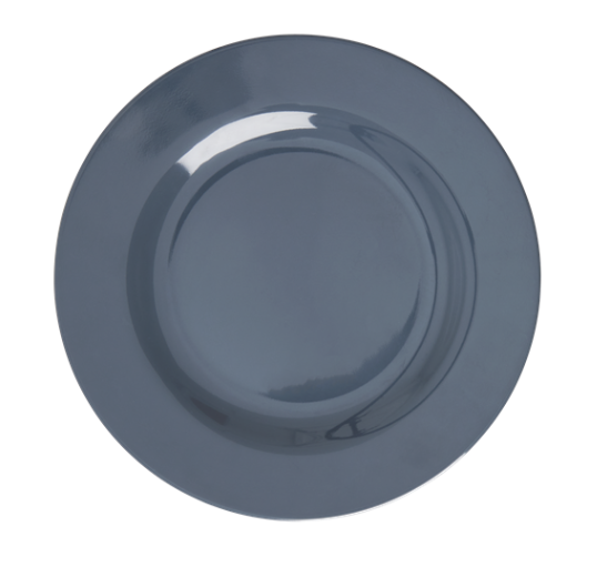 Rice Kids Melamine Side Plate | Dark Grey