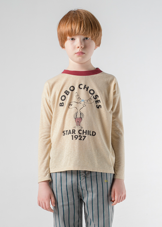 Bobo Choses | The Moose Long Sleeve Tee Shirt
