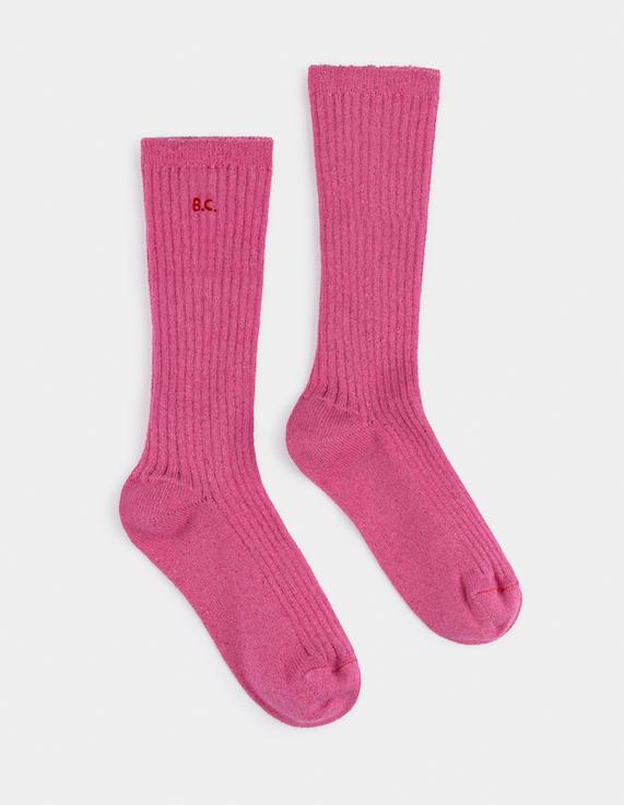 Bobo Choses | Pink Lurex Socks