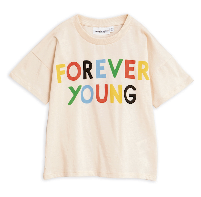 Mini Rodini | Forever Young Tee | Organic & Responsible