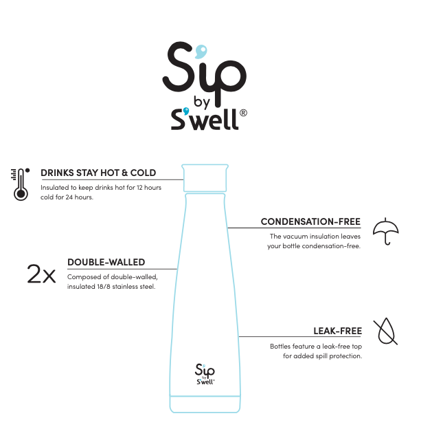 S'ip by S'well | whale of a time | 295ml