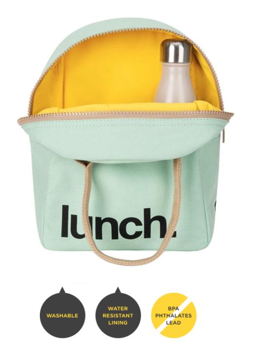 FLUF Midnight Blue Lunch Bag with Zipper