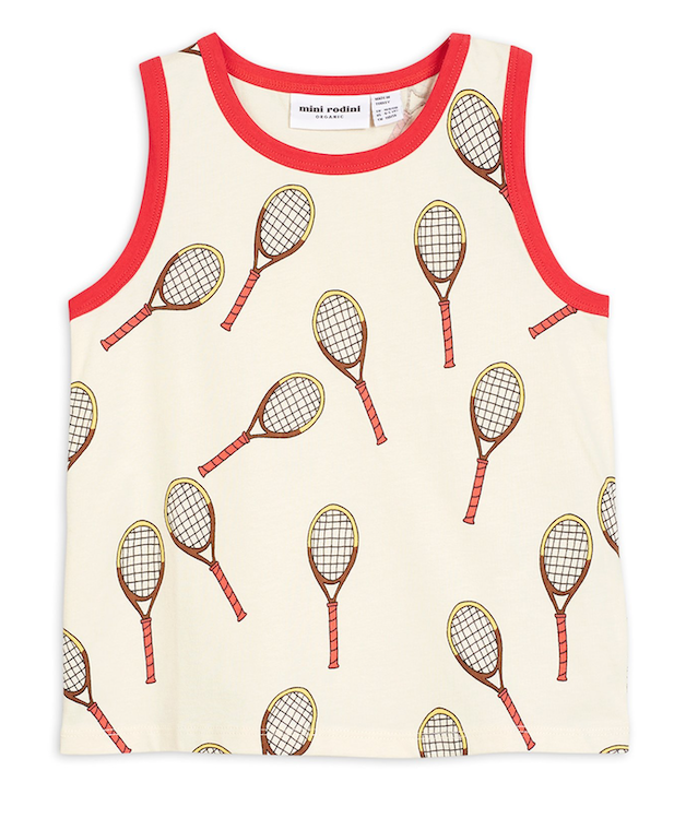 Mini Rodini Tanktop | Tennis