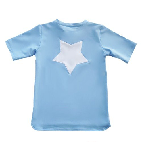 Petit Crabe - Short Sleeved Swimshirt - China Collar