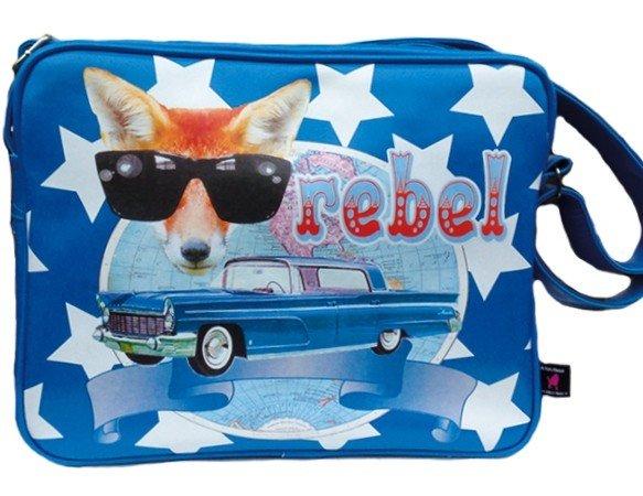 De Kunstboer School Bags - Rebel - Shoulder Bag