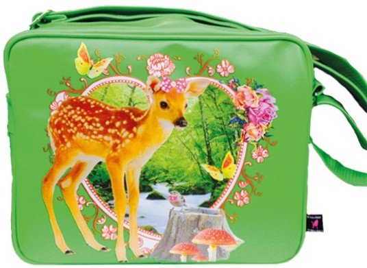 De Kunstboer School Bags - Bambi - Shoulder Bag