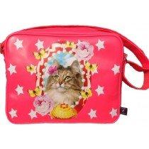 De Kunstboer School Bags - Cat - Shoulder Bag