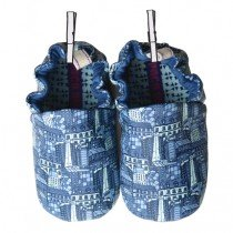 poco nido - Pull on Baby Shoes - City