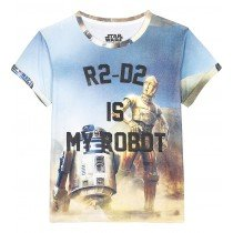 Little Eleven Paris - R2 D2 is MY ROBOT - Short Sleeve Tee