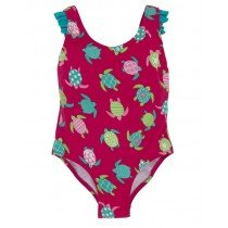 Hatley - Girl's Swimwear - One Piece Bathing Suit - Sea Turtles