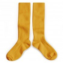 Collegien Socks - Knee High - Honey Gold