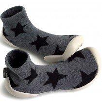 Collegien Slippers - Grey Star by nununu