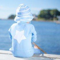 Petit Crabe - Sun Hat - Light Blue