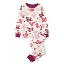 Girls Hatley Pyjamas - Woodland Tea Party